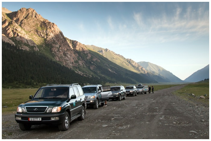 Transport, Kyrgyzstan tours